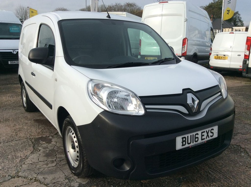 USED 2016 16 RENAULT KANGOO 1.5 ML19 BUSINESS ENERGY DCI 75 BHP 1 OWNER FSH NEW MOT FREE 6 MONTHS AA WARRANTY INCLUDING RECOVERY AND ASSIST NEW MOT EURO 5 SPARE KEY ELECTRIC WINDOWS AND MIRRORS BLUETOOTH