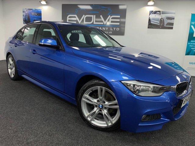 2012 62 BMW 3 SERIES 2.0 320I XDRIVE M SPORT 4d 181 BHP