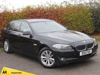 USED 2011 11 BMW 5 SERIES 2.0 520D SE TOURING 5d * BLUETOOTH * SATELLITE NAVIGATION * ECONOMICAL *