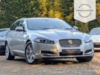 USED 2014 14 JAGUAR XF 3.0 D V6 LUXURY SPORTBRAKE 5d AUTO 240 BHP