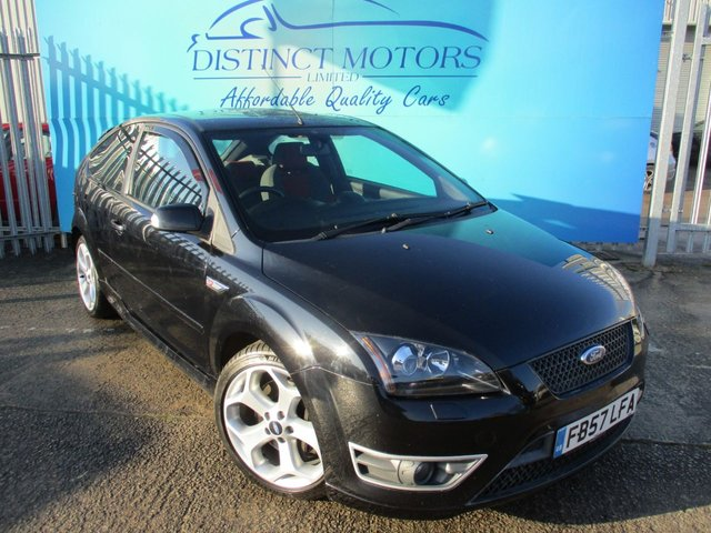 USED 2008 57 FORD FOCUS 2.5 ST-2 3d 225 BHP