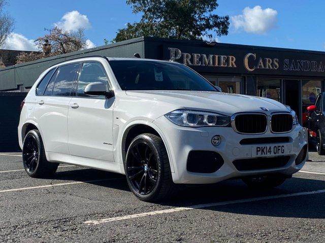 USED 2014 14 BMW X5 3.0 XDRIVE30D M SPORT 5d 255 BHP