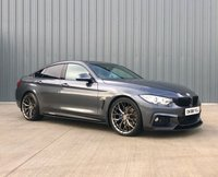 2016 BMW 4 SERIES 2.0 420D M SPORT GRAN COUPE 4d 188 BHP £17495.00