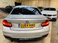 USED 2014 64 BMW 2 SERIES 2.0 220d M Sport (s/s) 2dr PERFORMANCE-KIT+HTDLTHR+HK+FSH