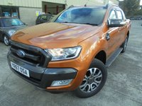 USED 2017 67 FORD RANGER 3.2 WILDTRAK 4X4 DCB TDCI 4d 197 BHP Like New Condition, One Owner, FSH, Low Rate Finance Available, NO VAT