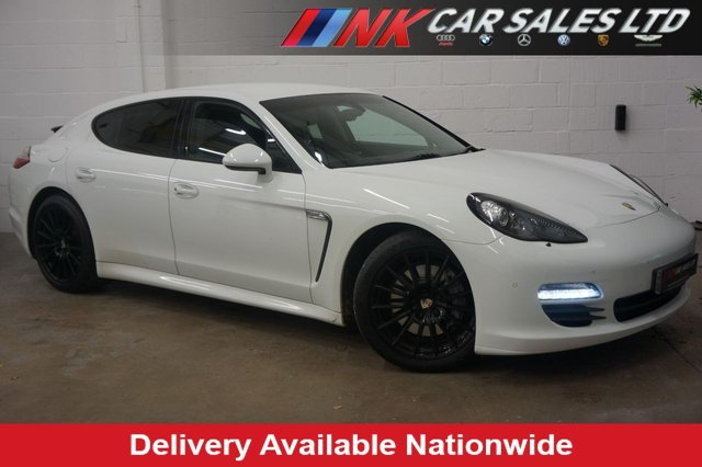USED 2012 62 PORSCHE PANAMERA 3.0 D V6 TIPTRONIC 5d SPORTS CHRONO PLUS PACK + REAR COMFORT PACK A REAL HEAD TURNER