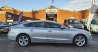 USED 2014 14 AUDI A5 2.0 SPORTBACK TDI SE TECHNIK S/S 5d 148 BHP NAVIGATION SYSTEM * LEATHER TRIM * DAB RADIO * FRONT AND REAR PARKING AID * HEATED SEATS * BLUETOOTH *