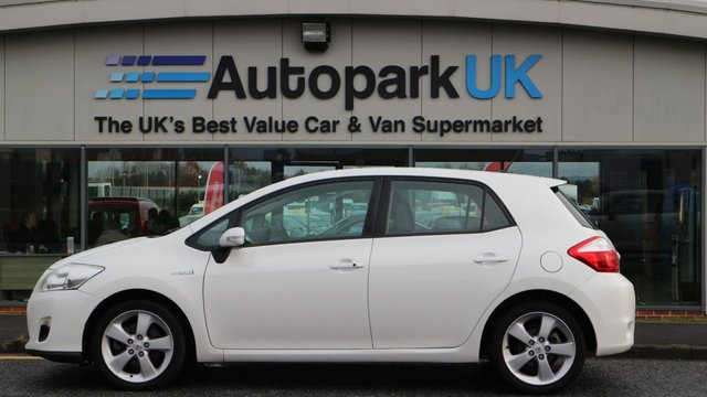 USED 2011 61 TOYOTA AURIS 1.8 T SPIRIT 5d 99 BHP LOW DEPOSIT OR NO DEPOSIT FINANCE AVAILABLE
