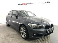 USED 2015 65 BMW 1 SERIES 1.5 116D SPORT 5d 114 BHP *SAT NAV, X2 KEYS, REAR SENSORS*