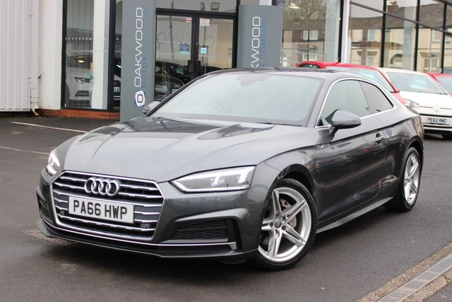 USED 2017 66 AUDI A5 2.0 TDI 190 BHP ultra S line (s/s) 2dr