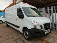 USED 2016 16 NISSAN NV400 GAH FRIDGE VAN LWB Medium roof L3 H2 *ONLY 46000 MILES* ONE OWNER - MOVEABLE PARTITION - CRUISE CONTROL