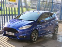 USED 2016 66 FORD FIESTA 1.6 ST-3 3dr 180 Sat nav Leather DAB Cruise Heated seats Finance arranged Part exchange available Open 7 days