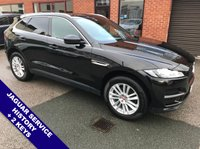 USED 2017 17 JAGUAR F-PACE 2.0 PORTFOLIO AWD 5DOOR 178 BHP DAB   :   Sat Nav   :   USB & AUX   :   Speed Limiter   :   Phone Bluetooth Connectivity      Climate Control / Air Con  :  Electrically Adjustable Sunroof  :  Heated/Electric Front Seats                       Full Black Leather Upholstery   :   Rear View Camera   :   Heated Steering Wheel      Automatic Tailgate   :   Front & Rear Parking Sensors   :   2 Keys