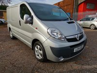 2014 VAUXHALL VIVARO 2700 L1 H1 SWB SPORTIVE 115 *AIR CON*ONLY 45000 MILES* £8495.00