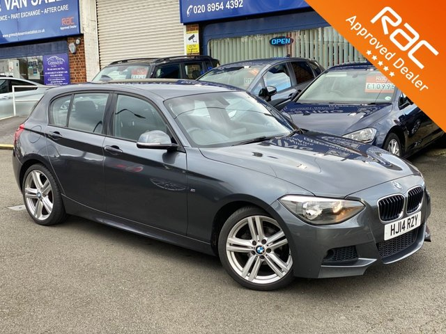 2014 14 BMW 1 SERIES 2.0 118D M SPORT 5d 141 BHP