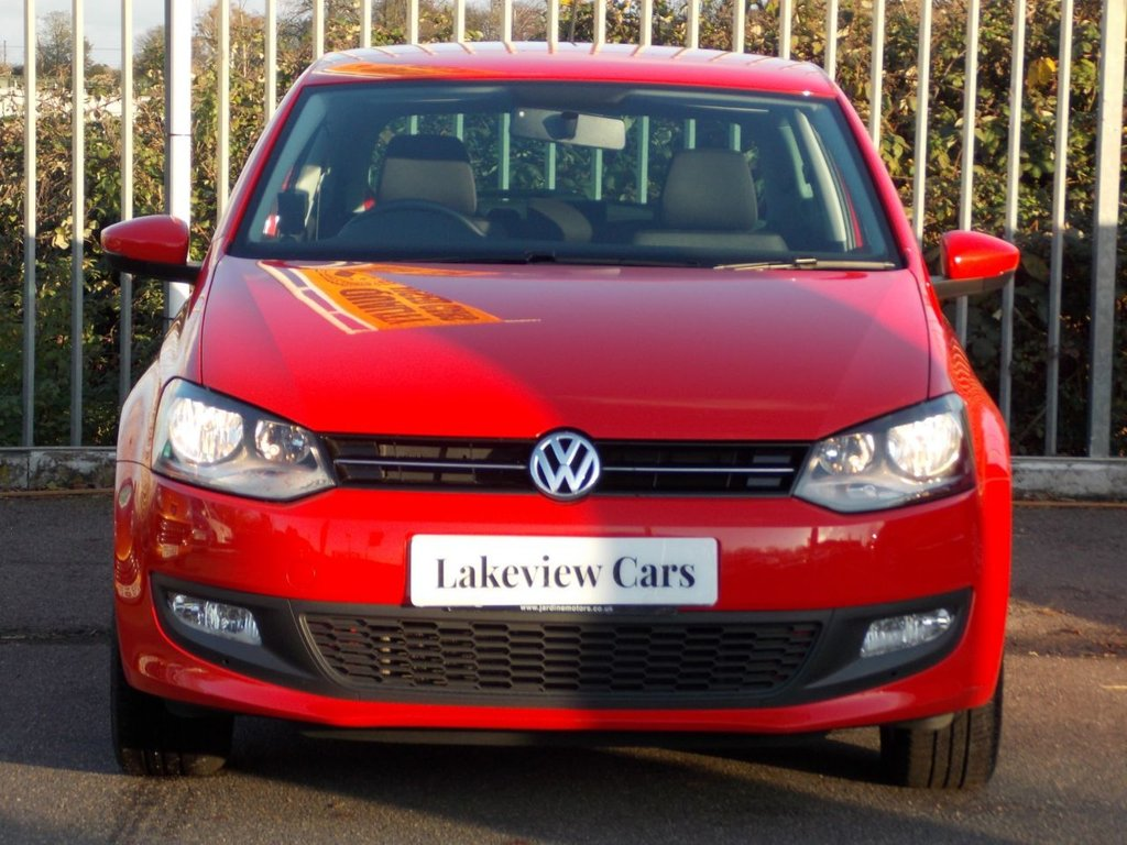 USED 2014 63 VOLKSWAGEN POLO 1.2 MATCH EDITION 3d 69 BHP