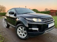 USED 2013 63 LAND ROVER RANGE ROVER EVOQUE 2.2 SD4 PURE TECH 5d 190 BHP SAT NAV PANORAMIC ROOF HEATED SEATS PURE STYLE PACK FULL LAND ROVER HISTORY