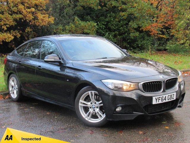 USED 2014 64 BMW 3 SERIES 3.0 330D M SPORT GRAN TURISMO 5d 255 BHP FULL LEATHER INTERIOR, SATELLITE NAVIGATION