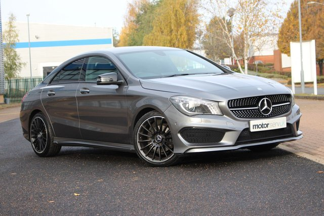 USED 2013 13 MERCEDES-BENZ CLA 1.6 CLA180 AMG SPORT 4d 122 BHP