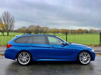2014 BMW 3 SERIES 2.0 320D XDRIVE M SPORT TOURING 5d 181 BHP £13995.00