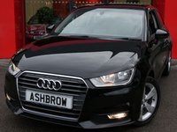 USED 2015 65 AUDI A1 1.0 TFSI SPORT 3d 95 S/S FULL SERVICE HISTORY, £0 ROAD TAX (97 G/KM), UPGRADE REAR PARKING SENSORS, UPGRADE CRUISE CONTROL, UPGRADE AUTO DIMMING REAR VIEW MIRROR, UPGRADE RAIN & LIGHT SENSORS WITH HIGH BEAM ASSIST, UPGRADE WINDSCREEN SUN BAND, DAB RADIO, BLUETOOTH PHONE & MUSIC STREAMING, AUDI MUSIC INTERFACE, FRONT FOG LIGHTS, 16 INCH 5 SPOKE ALLOYS, GREY TORNADO CLOTH INTERIOR, SPORT SEATS, LEATHER MULTIFUNCTION STEERING WHEEL, AIR CONDITIONING, CD & SD CARD READER, TYRE PRESSURE MONITORING SYSTEM, VAT Q