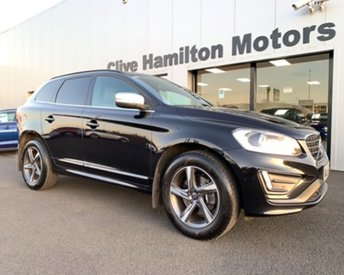 2015 VOLVO XC60 2.4 D5 R-DESIGN NAV AWD 212 BHP FULL LEATHER HEATED SEATS, TOWBAR £15750.00