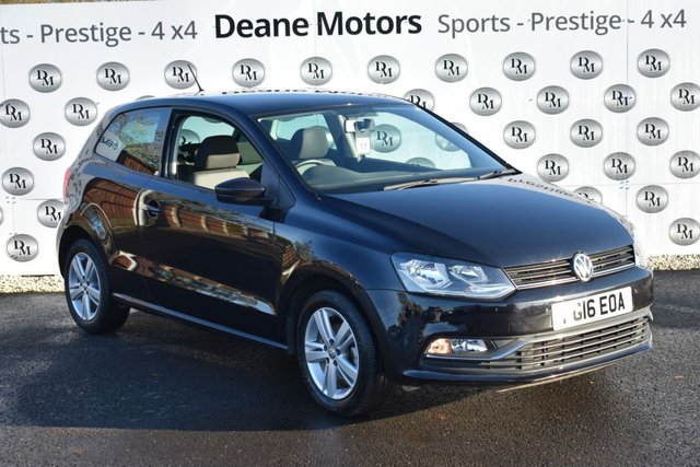 2016 16 VOLKSWAGEN POLO MATCH GREAT VALUE