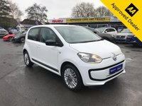 2016 VOLKSWAGEN UP 1.0 LOOK UP 5d 59 BHP IN WHITE WITH 49500 MILES, FULL SERVICE HISTORY, 1 OWNER AND A GREAT SPEC INCLUDING SAT NAV  £5799.00