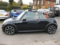 USED 2007 07 MINI CONVERTIBLE 1.6 COOPER S SIDEWALK 2d 168 BHP Cheap car with a few bits to be done. Please read add fully. Special edition with Full Leather Xenons. Parking sensors. MOT September 2020