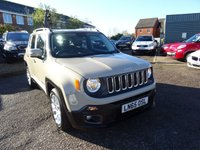 USED 2015 65 JEEP RENEGADE 1.6 M-JET LONGITUDE 5d 118 BHP 1 PREVIOUS KEEPER SERVICE HISTORY X2 KEY