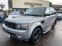 USED 2013 13 LAND ROVER RANGE ROVER SPORT 3.0 SDV6 HSE BLACK 5d 255 BHP