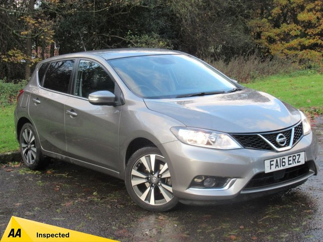 USED 2016 16 NISSAN PULSAR 1.2 N-CONNECTA DIG-T 5d 115 BHP FULL SATELLITE NAVIGATION, ALLOYS