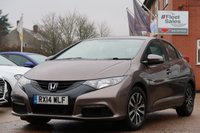 USED 2014 14 HONDA CIVIC I-DTEC SE 3 MONTHS EXTENDABLE AA WARRANTY INCLUDED