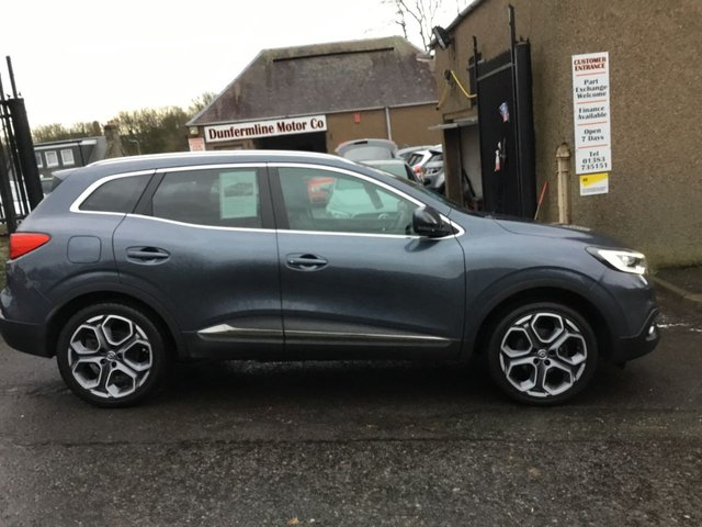 USED 2015 65 RENAULT KADJAR 1.5 DYNAMIQUE S NAV DCI 5d 110 BHP ++1 OWNER FROM NEW++