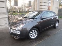 USED 2015 65 ALFA ROMEO MITO 0.9 TWINAIR PROGRESSION 3d 105 BHP *** FINANCE & PART EXCHANGE WELCOME *** 1 OWNER £ 0 FREE TAX BLUETOOTH PHONE AIR/CON CD PLAYER AUX & USB SOCKETS PARKING SENSORS