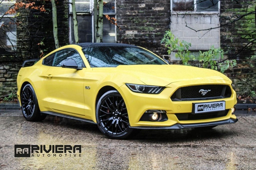 USED 2015 11 FORD MUSTANG 5.0 GT 2d 410 BHP