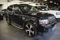 USED 2012 61 LAND ROVER RANGE ROVER SPORT 3.0 SDV6 HSE 5d 255 BHP 2012 8 SPEED COMMANDSHIFT - 3.0 SDV6 255 BHP - 7 STAMPS TO 96K - CAMBELTS DONE - NAV - TV - DAB - SUNROOF - 22 INCH ALLOY WHEELS