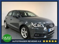 USED 2016 66 AUDI A1 1.0 SPORTBACK TFSI SPORT 5d 93 BHP FULL AUDI HISTORY - 1 OWNER - AIR CON - BLUETOOTH - CRUISE - CD PLAYER - PRIVACY - ISOFIX POINTS