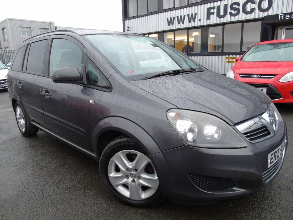 USED 2012 VAUXHALL ZAFIRA 1.6 EXCLUSIV 5d 113 BHP £86 a month, T&Cs apply.