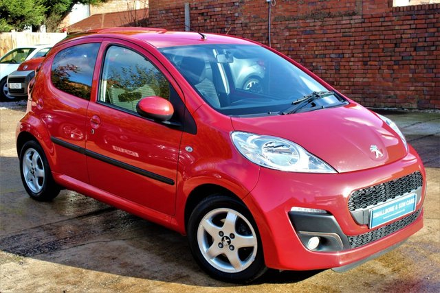 USED 2012 62 PEUGEOT 107 1.0 ALLURE 5d 68 BHP **** £30 ROAD TAX * BLUETOOTH * AIR CONDITIONING ****