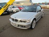2003 BMW 3 SERIES 2.0 318CI 2d 141 BHP £1495.00