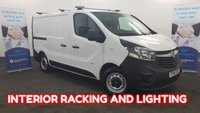2016 VAUXHALL VIVARO 1.6 2900 CDTI ECOFLEX Internal Racking, Lighting, Rear Parking Sensors,  Electric Pack, EX BT VEHICLE. £8480.00