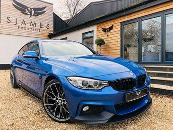 2016 BMW 4 SERIES 2.0 420D XDRIVE M SPORT GRAN COUPE 4d AUTO 188 BHP £18990.00