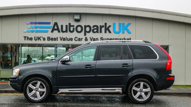 USED 2011 61 VOLVO XC90 2.4 D5 R-DESIGN SE AWD 5d 197 BHP LOW DEPOSIT OR NO DEPOSIT FINANCE AVAILABLE