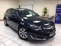 USED 2015 15 VAUXHALL INSIGNIA 2.0 SRI NAV CDTI ECOFLEX S/S 5d ESTATE 138 BHP ONE OWNER / SERVICE HISTORY / NEW MOT / MULTIPLE AIRBAGS / ISOFIX / SATNAV / BLUETOOTH PHONE CONNECTIVITY