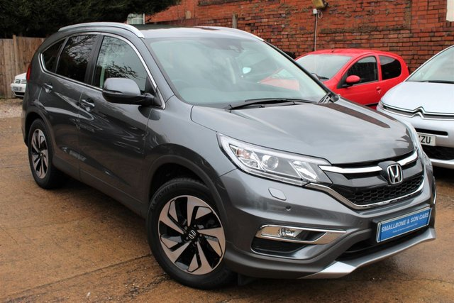 USED 2017 17 HONDA CR-V 1.6 I-DTEC SR 5d 118 BHP **** FULL MAIN DEALER HISTORY * £30 ROAD TAX * SAT NAV * HEATED SEATS * REVERSE CAMERA ****