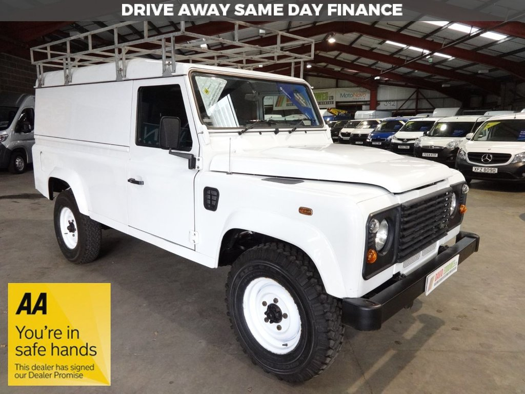 USED 2014 14 LAND ROVER DEFENDER 110   2.2 TD HARD TOP 122 BHP - AA DEALER PROMISE - TRADING STANDARDS APPROVED -