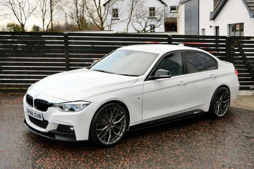 USED 2016 66 BMW 3 SERIES 2.0 320D M SPORT 4d 190 BHP LCI 6 MONTHS RAC WARRANTY FREE + 12 MONTHS ROAD SIDE RECOVERY!