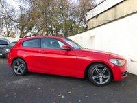 2013 BMW 1 SERIES 1.6 114I SPORT 3d 101 BHP £7495.00