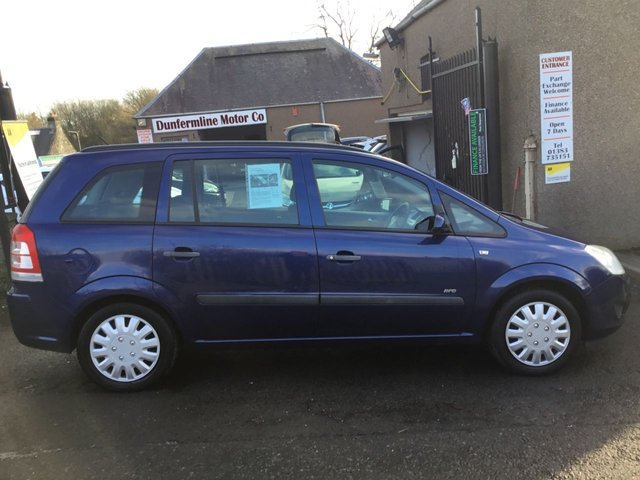 USED 2008 08 VAUXHALL ZAFIRA 1.6 LIFE 16V 5d 105 BHP ++7 SEATER PRICED TO SELL++
